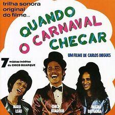 NEW - Quando O Carnaval Chegar by Buarque, Chico