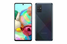 Samsung A71 (5G) 128GB Black Unlocked 6.7 in Display Android A716U Smartphone