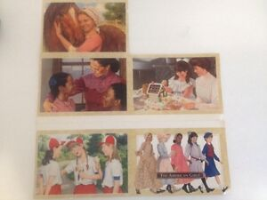 Lot-Of-5-Trading-Postcards-Of-The-American-Girls-1995-Pleasant-Co