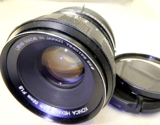 Konica 52mm f1.8 AR Manual Lens adapted Sony E cameras NEX ILCE α6300 α5100 5R