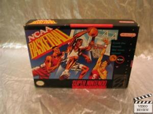 NCAA Basketball (Super Nintendo Entertainment System, 1992) No Inst.