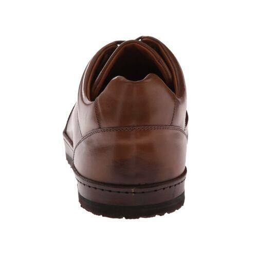 """Men/'s Lace-up Shoes Mezlan /""""Frankfurt/"""" Low-Top Leather Sneaker Cognac 8-13US"""