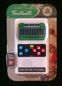Details about Classic Electronic Football Handheld Game Sound Effects  #09506 Brand New 2018