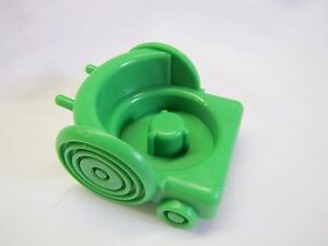 Fisher Price Little People GREEN WHEEL CHAIR Wheelchair for School Bus NEW