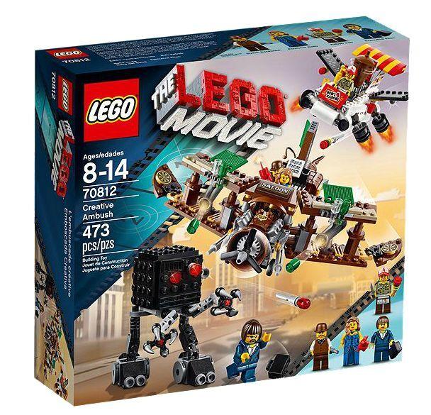 LEGO ® The LEGO Movie  70812 vol attaque Nouveau neuf dans sa boîte _ Creative repoussé nouveau En parfait état, dans sa boîte scellée Boîte d'origine jamais ouverte  vente pas cher