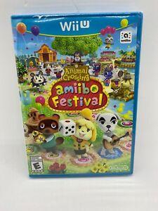 Animal Crossing: Amiibo Festival Game Only (Nintendo Wii U, 2015) Brand New!!