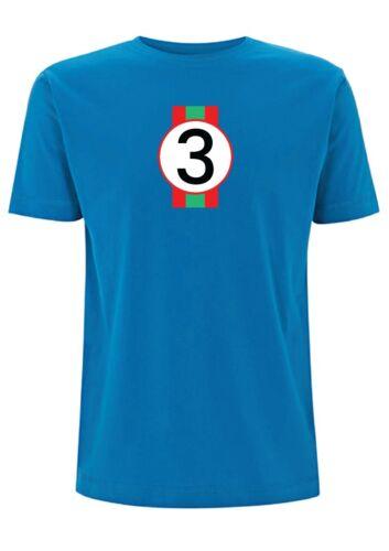 Targa Florio T Shirt 1972 Ferrari Inspired 312PB No 3 Winner Road Race Classic