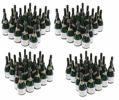 96 Mini Champagne Bottles Wedding Bubbles New Years Eve ...
