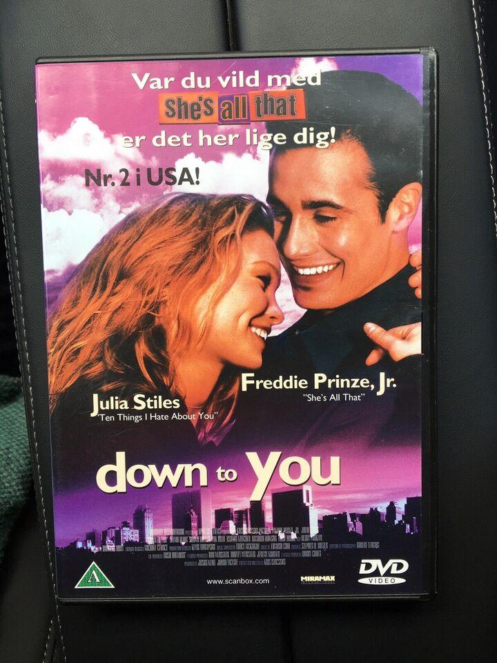 Down to you, DVD, romantik