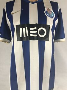 5d6f271e5eeb0 Details about Nike Dri-Fit MEO FCP MOCHE SUPER BOCK Classic Blue  Soccer/RUGBY Jersey (Medium)