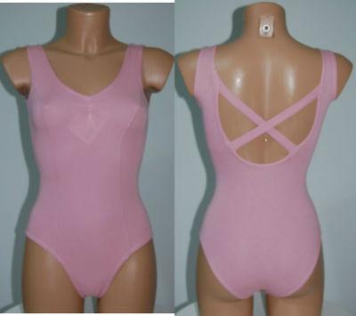 Affidabile Body Danza A Canotta Con Fianchini E Arriccio E Con Fasce Incrociate Dv0165 Vari Stili