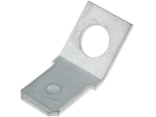 10x 60465-2 Verbinder flach 6,35mm 0,8mm männlich Ø 4,3mm mit