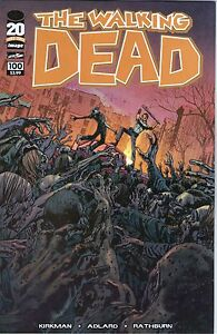 THE WALKING DEAD #100  1st Printing - Bryan Hitch Cover F    / 2012 Image Comics