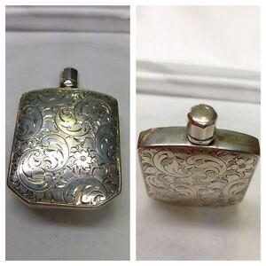 Botella-835-PLATA-silberparfumflasche-parfumbehalter