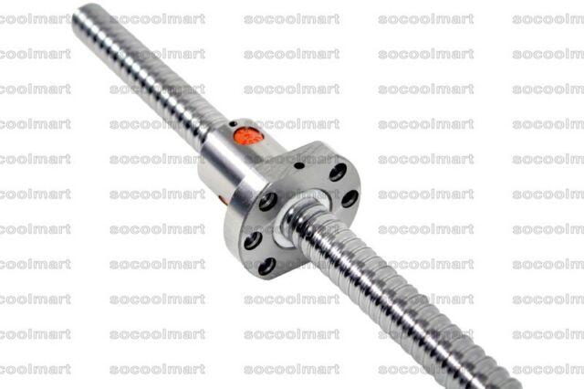 SFU1605 1200~2600mm Super Long Zero Backlash CNC Ball Screw No Endmachined