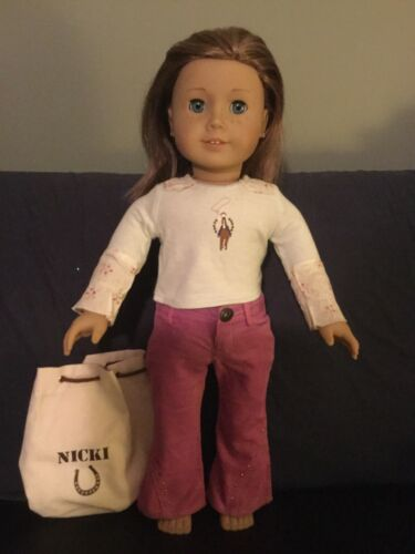 American Girl Doll Nicki Retired Doll of the Year 2007