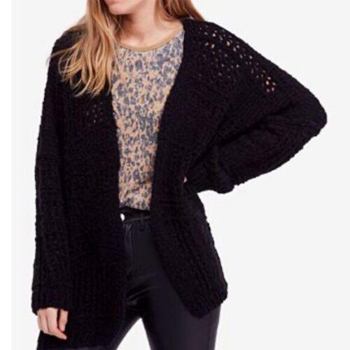Free People Saturday Morning Cardigan Sweater M L