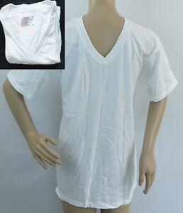 bb1248c1 Hanes White Comfort Soft Men's V-Neck 6 Pack T-shirt/undershirt ...