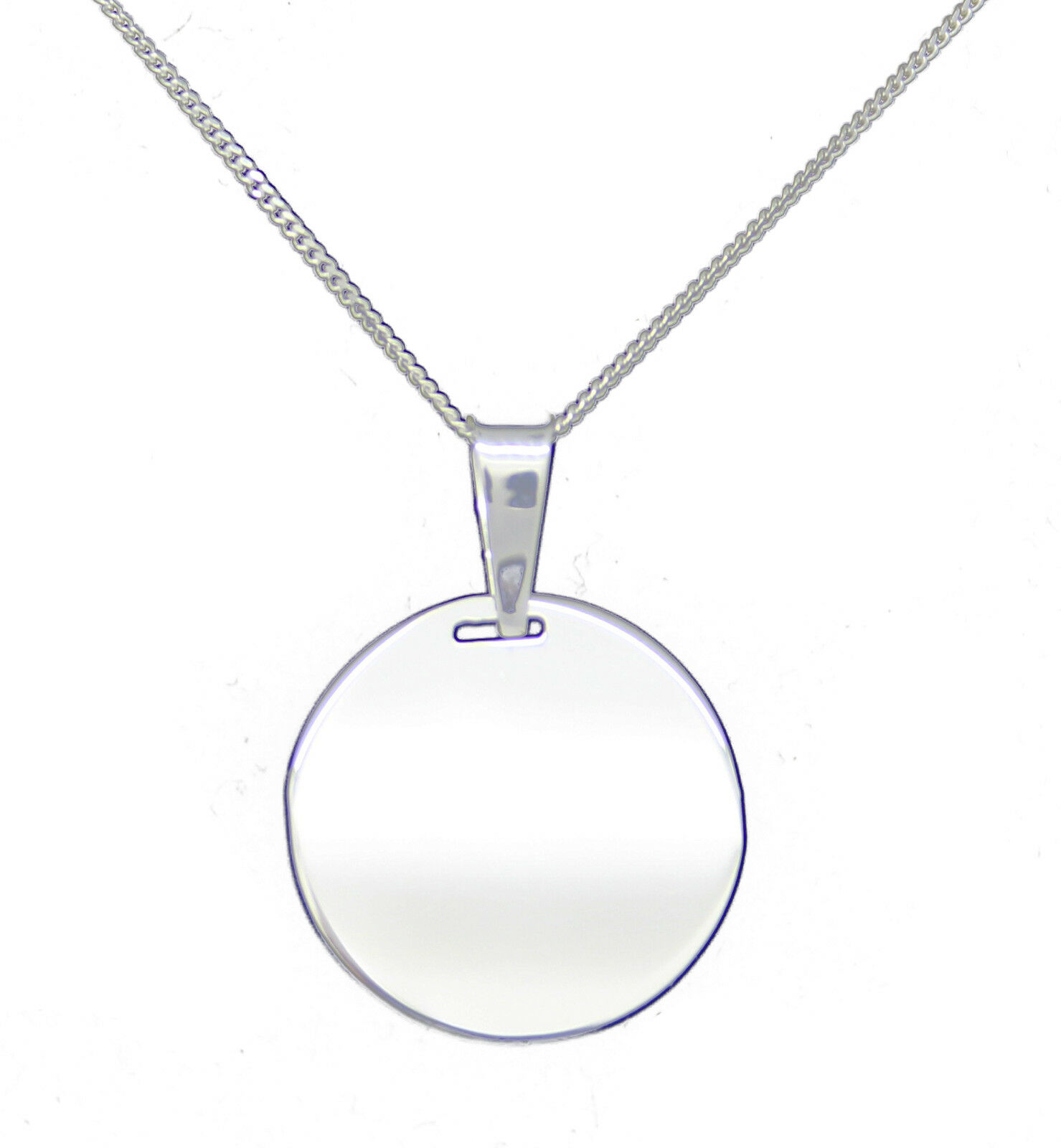 Personalised engraved name pendant 925 sterling silver necklace click thumbnails above to enlarge aloadofball Images