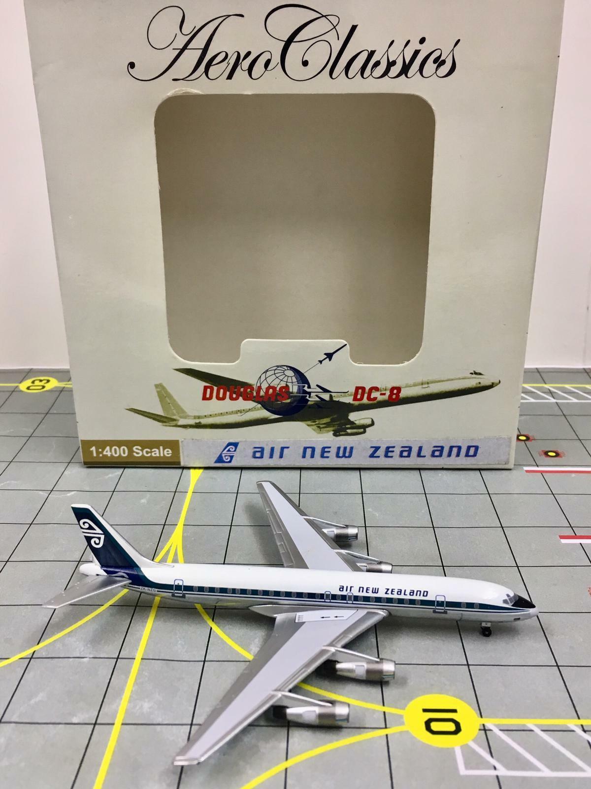 RARE AeroClassics 1 400 Air New Zealand Douglas DC-8-52 ZK-NZG  1970s colors
