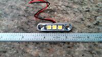Sandrail Utv Buggy Rzr Rock Underglow Led Micro Billet Dome / Accent Light White