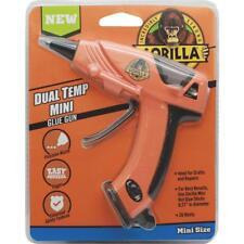 Gorilla 8401502 Dual Temperature Mini Glue Gun Orange 20 Watts