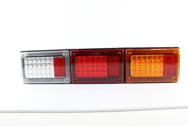 TRUCK BUS TRAILER LED TRIPLE JUMBO COMBINATION TAIL LAMP FOR CARAVAN JAYCO x1