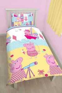 FUNDA NORDICA PEPPA PIG REVERSIBLE 135 X 200 CAMA 90 PEPA   eBay