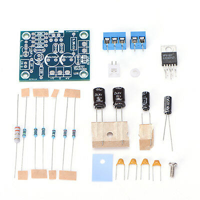 20W LM1875T Mono Channel Stereo Audio HIFI Amplifier Board Module DIY Kit TO