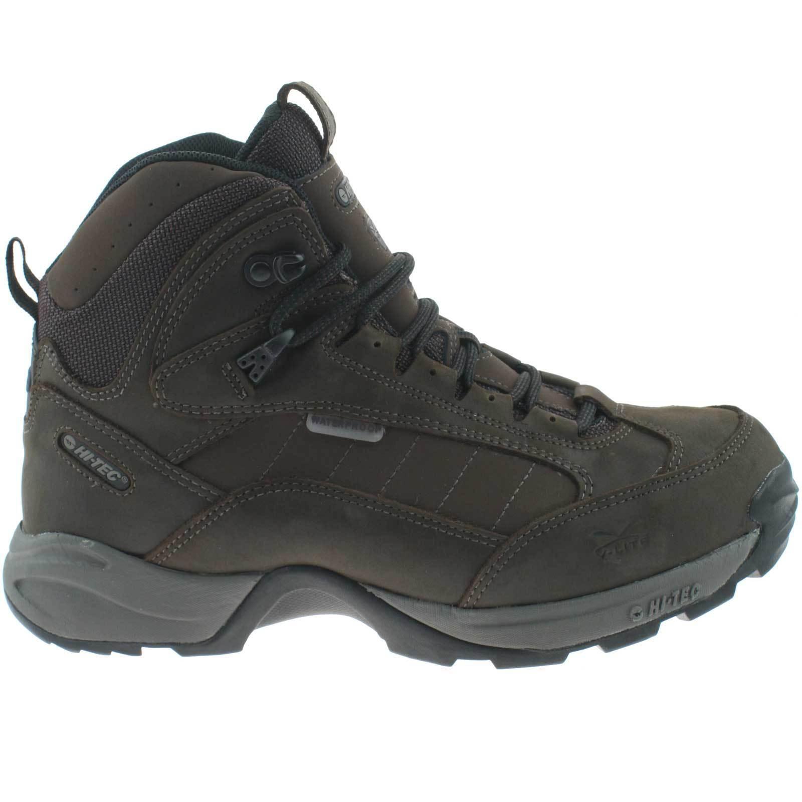 Uomo Hi-Tec Scarpe PASSEGGIO da trekking impermeabili taglia PASSEGGIO Scarpe 422ad1