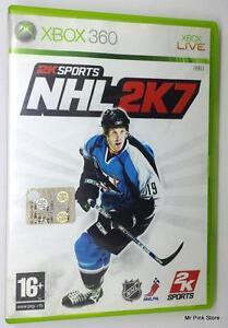 XBOX-360-NHL2K7-2KSPORTS-HOCKEY