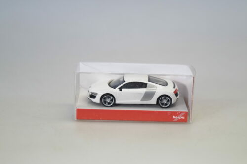 1:87 Herpa 023641 Audi R8 weiss neuw.//ovp