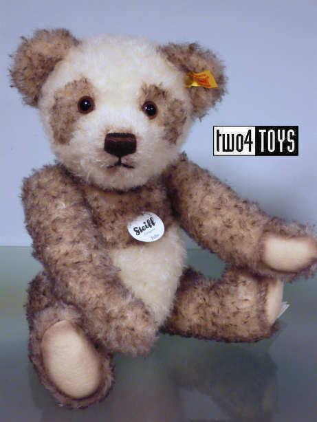 STEIFF PELLE PANDA TEDDY BEAR 33cm / 13.2in. EAN 027024 RETIrosso