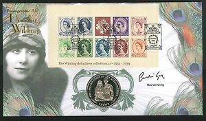2003 Wildings Coin Cover - Signed Geordie Greig Sent Post Free
