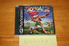 Tomba! 2: The Evil Swine Return (PS1 PSX Playstation) NEW SEALED, MINT & RARE!