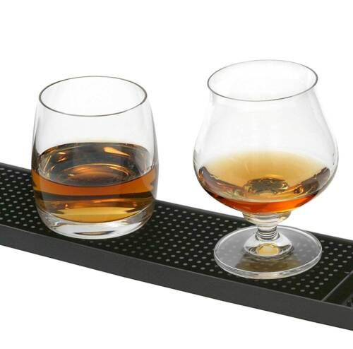 Bar und Serviermatte 8 x 60cm Gummi genoppt für die Bar  Cocktail Zubehör Matte