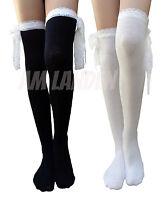 Am Landen®lolita Socks Gothic Over-knee High Cotton Socks
