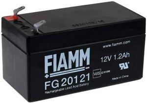 FIAMM FG20121 BATTERIA AL PIOMBO RICARICABILE 12V 1,2AH FASTON ORIGINALE