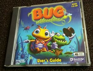 Bug-Adventure-PC-CD-Computer-game-Complete-Kids-game
