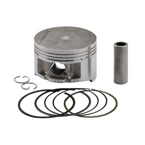 10.5:1 Compression~1999 Yamaha TTR250 Piston Kit 0.50mm Oversize to 73.50mm