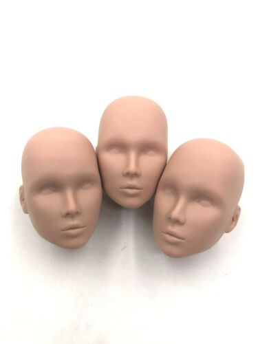 Fashion Royalty Integrity Doll Eden Lilith White Skin Lots 3 Blank Face Heads
