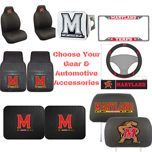NCAA-Maryland-Terps-Choose-Your-Gear-Auto-Accessories-Official-Licensed