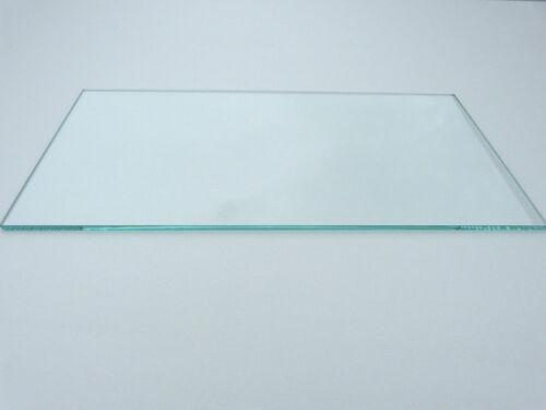 Kühlschrank Einlegeboden 47,5cm x 19,5cm KLARGLAS Glasboden Ersatz 475 x 195mm