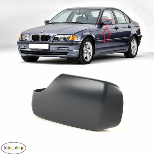 BMW 3 SERIES E46 1998-2005 NEW WING MIRROR COVER CAP PRIMED LEFT N//S