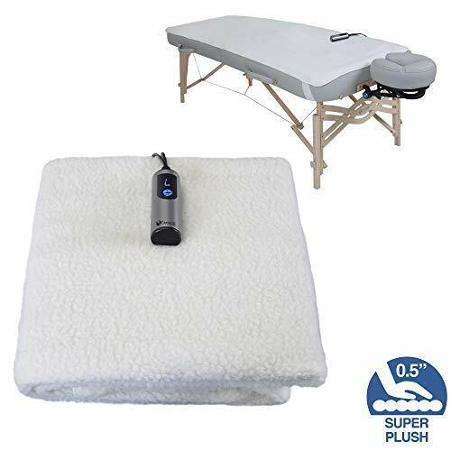 EARTHLITE Massage Table Warmer & Fleece Pad , 3 Heat Setting
