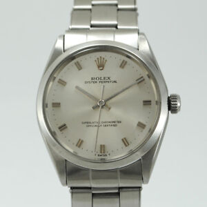 ROLEX OYSTER PERPETUAL 1002 YEAR 1967 CASE 34 MM. STAINLESS STEEL ... eba645dcad5