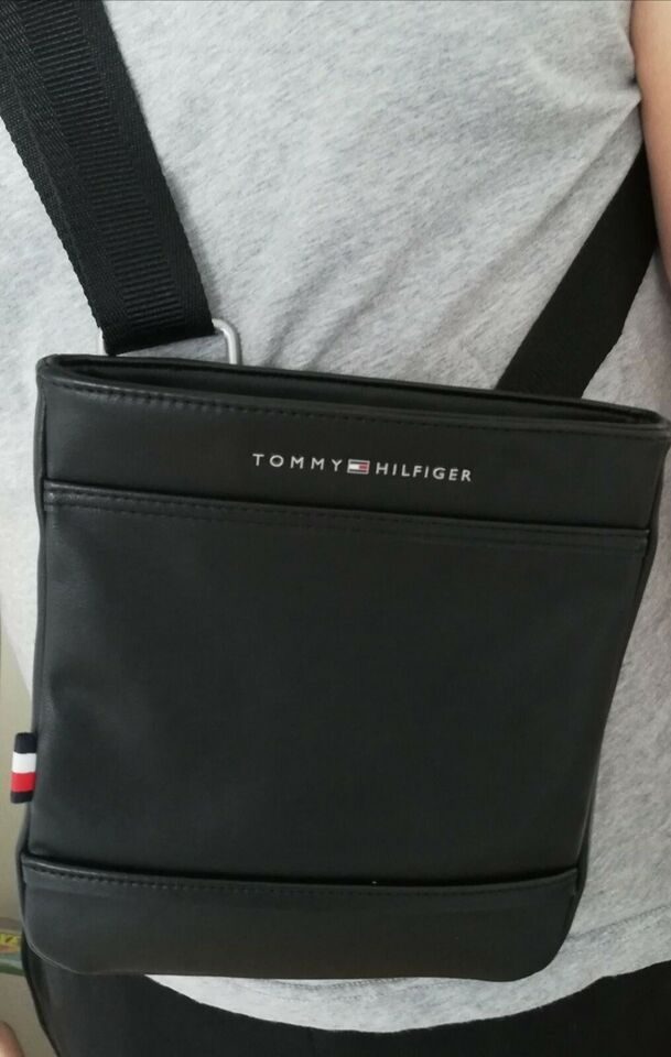 Crossbody, Tommy Hilfiger, læderlook
