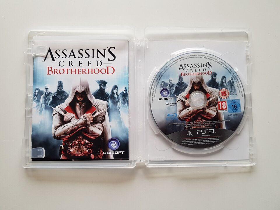 Assassins Creed, Brotherhood, PS3