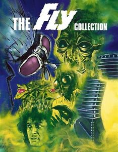 THE FLY COLLECTION New Blu-ray All 5 Films 1958 Return Curse 1986 Fly II