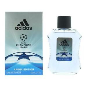 Detalles de Adidas Champions League Arena Edition Eau de Toilette 100ml Spray para él Nuevo. ver título original